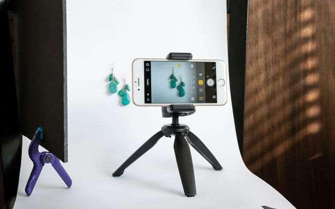 fotografiar joyas con smartphone